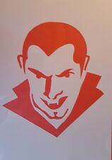 1617 Schablone Dracula Vintage Stanzschablone Shabby Stencil Wandtattoo Wandbild
