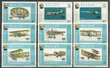 FLUGZEUGE/ Belize MiNr 420/28 **