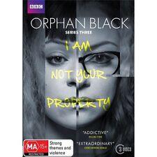ORPHAN BLACK-Series 3-Region 4-New AND Sealed-3 Dics Set-TV Series