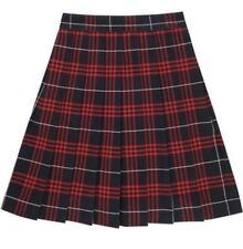 French Toast Navy/Red Uniform Plaid Skirt Size 20