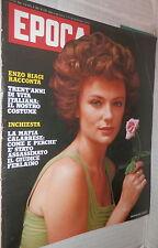 EPOCA 9 agosto 1975 Jacqueline Bisset Zaccagnini Mario Tuti Ferlaino Bonatti di