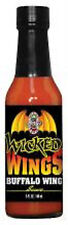 Wicked Wings Buffalo Wing Sauce (5oz) Hot Sauce Harry's Quality Spicy Free Shipp