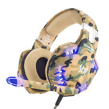 EACH 3.5mm G2600 Gaming Headset MIC LED Headphones for PC Laptop PS4 Xbox One