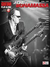 Joe Bonamassa Guitar Play Along 8 Songs! Tab Book NEW!