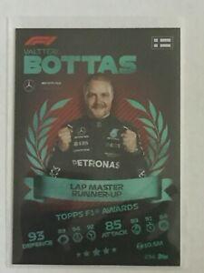 Turbo Attax 2021 - # 234 VALTTERI BOTTAS  - TOPPS F1 AWARDS - FOIL CARD