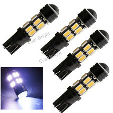 4PCS White T10 5630 16SMD +1.5W 194 W5W Car LED License Plate Map Light Bulbs