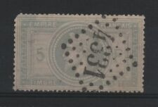 "FRANCE STAMP TIMBRE 33 d "" NAPOLEON III GRAND CHIFFRE 5 "" OBLITERE A VOIR R474"
