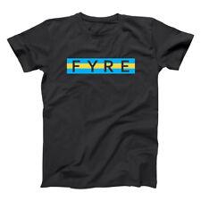 FYRE BAHAMAS FESTIVAL - Party music fest Black Men's T-Shirt