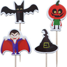 Halloween Cupcake Pick Toppers (24 Supplied)