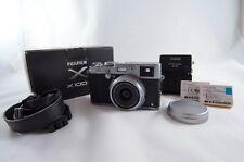 Fuji X100S 16MP Digital Camera Silver with Extra Batteries (Fujifilm)
