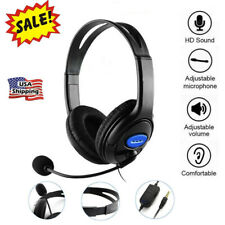 3.5mm Gaming Headset With Microphone Headphones for PC Laptop PS4 Xbox One GL