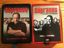 The Sopranos Boxed Set Complete Seasons 1 and 2- 4 disc each 13 Episodes each