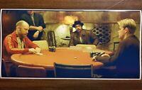 "Rounders Poker 12"" X 24 Poster Movie Scene Teddy KGB Game Room Man Cave Holdem"