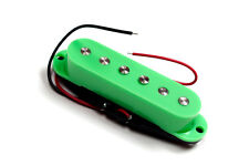 Green verde Artec single coil pickup staggered pole SSC for Stratocaster guitar