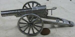 Vintage Cast Iron Field Artillery Cannon #1