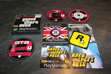 JEU PS1 GRAND THEFT AUTO EDITION COLLECTOR ROCKSTAR INCOMPLET OCCASION