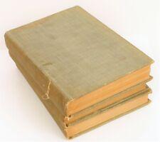 ANTIQUE THE AMERICAN METROPOLIS NEW YORK CITY LIFE FRANK MOSS 1897 SET OF 3 BOOK