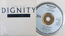 DEACON BLUE CD Dignity 4 Track 1987 rare Suffering / Just Like Boys / Shifting