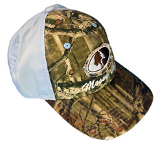 Womens Mossy Oak Camo Cap with Blue Back Camo Ball Cap