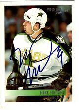 Autographed 1994-5 Premier #230 MIKE MODANO Dallas Stars Hockey card