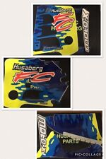 Husaberg Original 1998 Decal set  FC400, FC501, FC600  MOTOX OEM 19010701/02/03