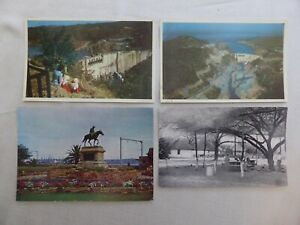 4 x UNPOSTED B & W AND COLOUR PHOTO POSTCARDS SOUTH AFRICA & ZAMBIA  1580880/1