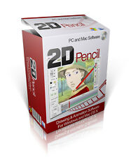 2D Pencil - 2D Animation Software Windows and Mac OS-X On CD-ROM