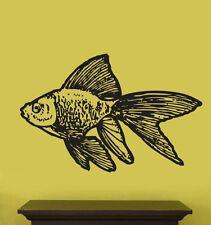 Vinyl Wall Decal Sticker Animal Gold Fish 20x32 Big