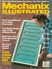 1977 Mechanix Illustrated Magazine: Solar Collector You Can Build/New Chevrolet