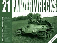 PANZERWRECKS 21 Panzer V Panther/Tiger/Sturmpanzer/Panzer-Modellbau/Fotos NEU