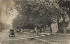 Monticello NY Main St. East c1910 Postcard