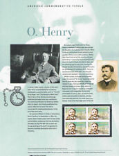#907 (45c) Forever O. Henry #4705 USPS Commemorative Stamp Panel