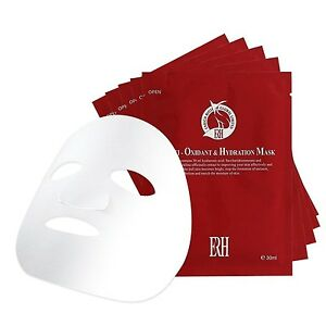 Hydrating Face Mask For Men and Women By ERH - Red Box - Box of 5 Masks