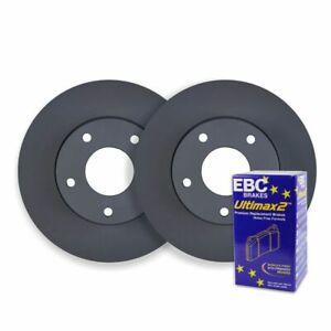 FRONT DISC BRAKE ROTORS + PREMIUM PADS for Audi A5 8T 2.0T TFSI 5/2009-8/2013