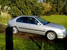 2003 ROVER 45 TURBO DIESEL Silver, Black leather interior