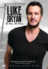 LUKE BRYAN - THE MAN THE MUSIC -  DVD -UK Compatible new