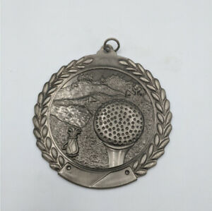 Gold Silver Bronze Gold Medal Attractive Engraved Sterling Fob Stg