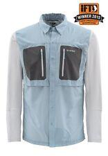 Simms GT TRICOMP Long Sleeve Shirt ~ Slate Blue NEW ~ Closeout Size XL