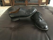 Barneys New York Italy Black men's  Leather Oxfords Shoes, 10.5M