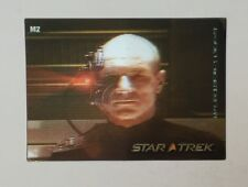 Star Trek 40th Anniversary M2 In Motion Lenticular Insert Card Picard Locutus