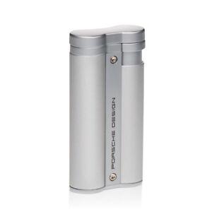 NEW Porsche Design - Flower Flame Cigar Lighter - Silver