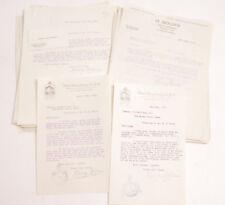 1926 Lamson Goodnow Hotel PA NYC H Molden Import Export NY Signed Ephemera L215D