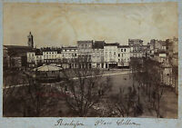 Rochefort Francia Charente-Maritime Vintage Print Stampa Albume D'Uovo, Ca 1890