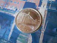 500 LIRE 1991 FDC PONTE MILVIO ARGENTO 835/1000 REPUBBLICA ITALIANA