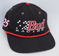 Bud RACING 25 954 of 2500 One Size Fits All Leather Strapback Baseball Cap Hat