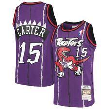 Молодежь Торонто Рэпторс Винс Картер Mitchell & Ness фиолетовый 1998/99 Hwc Джерси