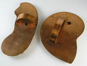 GIANT COPPER NAUTILUS & SEASHORSE - UNUSED MARTHA STEWART COOKIE CUTTERS