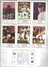 1983 & 1984 Minnesota Vikings Police Safety sets (17) Fran Tarkenton, J Marshall