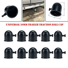 Universal 10PCS 50mm Tow Bar Ball Cover Cap Towing Hitch Caravan Trailer Towball
