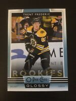 Trent Frederic 2019-20 O-Pee-Chee Glossy Rookie #R-9  Boston Bruins RC